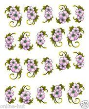 One Stroke Sticker, Blumen,Tattoo, Aufkleber  Nr.1289
