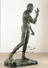 Kunstpostkarte - Auguste Rodin:  Pierre de Wiessant (Bronzeguss)