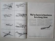 10/1973 PUB VFW FOKKER F28 AIRLINER SPIDER F.II F.III F.VII F.X ORIGINAL AD