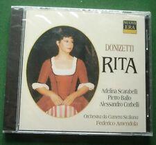 Donizetti Rita Orchestra da Camera Siciliana Federico Amendola New Sealed CD