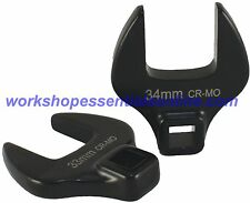 """50mm Crowfoot Wrench 1/2""""Drive Open End Trident T214150"""