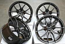 "18 ""Canna di Fucile GTV RUOTE IN LEGA adatta 5X108 FORD FOCUS MONDEO TRANSIT CONNECT Edge"