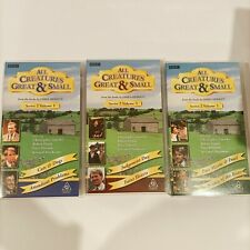 All Creatures Great & Small James Herriot Volume 1, 2 & 3 complete series VHS