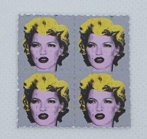 Kate Moss Mini Blotter Art Psychedelic Art LSD Acid Art Print 36 Tab Mini Sheet