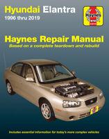 Hyundai Elantra 1996-2019 Repair Manual