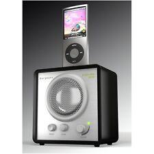 Bergmann popcube mini hochglanz schwarz UKW MP3 Direkt Dock Design Box