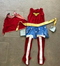 Child's Justice League Wonder Woman 6 Piece Costume Size Medium