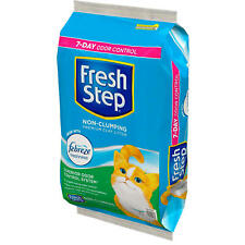 Fresh Step Non-Clumping Premium Cat Litter with Febreze Freshness, Scented 40 Lb