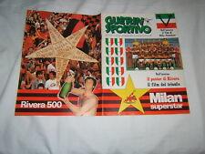 RIVISTA=GUERIN SPORTIVO=N°19 (236) 1979=MILAN STELLA=POSTER DI GIANNI RIVERA=