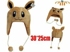 Cap soft toy Eevee plush hat SHIPS WORLDWIDE BAJO ORDER