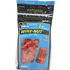 Ideal 100Pk Red Wire Nut