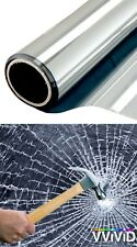 5ft x 100ft 8Mil Clear Safety Window Film