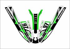kawasaki 550 sx js 300 400 440 jet ski wrap graphics pwc stand up jetski racing