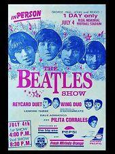 "Beatles Rizal  16"" x 12"" Photo Repro Concert Poster"