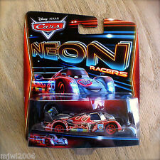Disney PIXAR Cars NEON SHU TODOROKI Racers RARE Metallic Deco IMPERFECT CARD