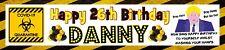 BORIS QUARANTINE LOCKDOWN  PERSONALISED BIRTHDAY CELEBRATION PARTY BANNER.