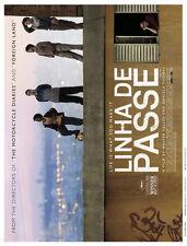 LINHA DE PASSE Movie POSTER 27x40 Sandra Corveloni Jo o Baldasserini Vin cius de