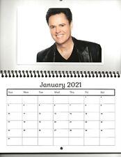 DONNY OSMOND  2021 Photo Calendar