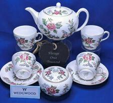 Wedgwood CATHAY 8 Piece Tea Set including Teapot * Rare Vintage 1950s (some AF)