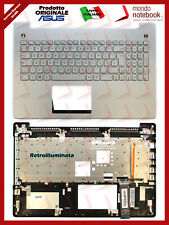 Tastiera con Top Case ASUS N550JV N550LF N550JX Retroilluminata (SILVER)