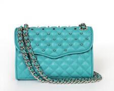 New Rebecca Minkoff Quilted Mini Affair W/ Studs Crossbody Bag H324E001S $225