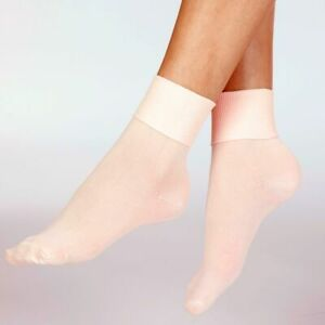 Silky Dance Intermediate Ballet Socks Theatrical Pink