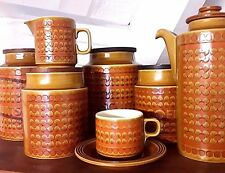 Hornsea SAFFRON Pattern Plates Bowls Jugs Dishes Tureen Cups Plates Bowls China