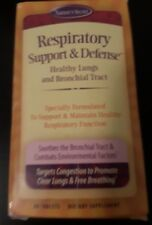 Nature's Secret Respiratory Cleanse & Defense Healthy Lungs & Bronchial Tract
