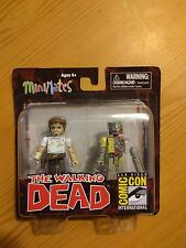 Walking Dead Minimates 2012 SDCC Exclusive Rick Grimes & Vacation Zombie
