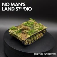 Pro Painted 28mm bolt action German panzer III tank  (resin & metal) ww2