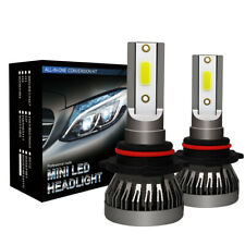2x 9005 HB3 H10 180W 30000LM LED Headlight Bulbs Conversion Kit 6000K Hi/Lo Beam