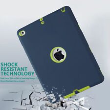 Shockproof Heavy Duty Hard Case Cover For Apple iPad Mini 1/2/3/4  pro Air lot