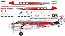 SMB Stage Lines Beech 18G C-45 decals for Pioneer 2 1/72 scale