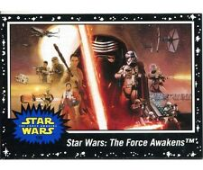 Star Wars Journey To The Force Awakens Complete 110 Card Black Parallel Base Set