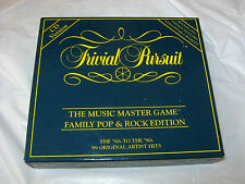 Trivial Pursuit The Music Master Game Pop & Rock Edition CD 1992