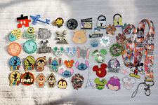 Disney trading Starter Set Lanyard + 50 pin lot NEW Pluto Donald Mickey Minnie