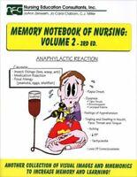 Memory Notebook Of Nursing Volume 2 by Joann Zerwekh