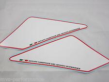 Ducati Monster 600 750 800 900 1000 s4 s4r s4rs Numéros Champs phrase blanc/rouge