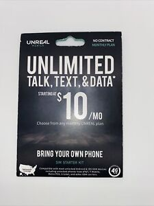 Unreal Mobile VOIP GSM AT&T SIM Card