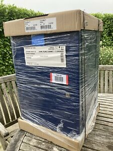 Bisley A4 Two Door Filing Cabinet (Oxford Blue) - Brand New