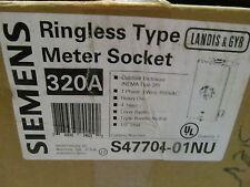 Siemens Meter Socket 320 Amp S47704-01Nu Ringless Type