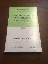 Cuban Poetry Gertrudis Gomez De Avellaneda La Mujer Poetisa Lirica Used Mexico