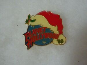 Planet Hollywood online Christmas pin classic logo 1998