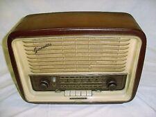 VINTAGE TELEFUNKEN GAVOTTE 7 HI-FI TUBE RADIO West Germany AM FM SW Phono LQQK!