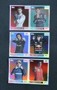 Topps F1 FORMULA 1 Season 2021 Album Stickers <choose> Limited Edition sticker