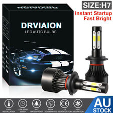 H7 LED Headlight Light Bulbs Replace HID Halogen 200W 20000LM 6000K White Globes