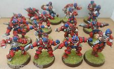 2004 umani Bloodbowl 5th Edition Citadel PRO PAINTED TEAM FANTASY CALCIO SPORT