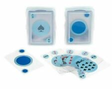 Deck Pack of Clear See Thru Modern Transparent Plastic Poker Playing Cards