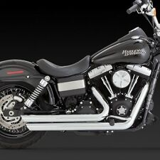 2012-2017 HARLEY DYNA/ FAT/STREET BOB Big Shots Exhaust (VANCE AND HINES 17935)