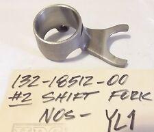 Yamaha 132-18512-00 YL1 YL1E Twin Jet Transmission gear SHIFT FORK #2 Nos NLA